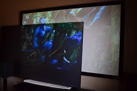 Media Room Tv Vs Projector - review screen innovations black diamond zero edge screen