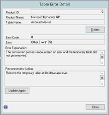 Delete From Table Sql Dynamics Gp Company Table Failure How To Backup Delete Create Sql
