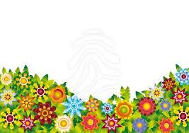 background clipart flower garden