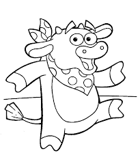 coloring pages dora and diego picture 28