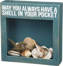 amazon com may you always have a shell in your pocket shell