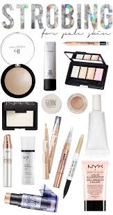 the best strobing products for pale skin what is strobing