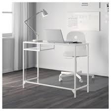 Desk Laptop Vittsjö Laptop Table White Glass Ikea