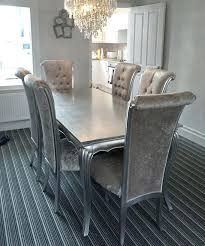 Silver Dining Room Silver Dining Room Sets Simple Kitchen Detail