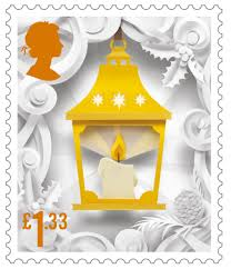 royal mail reveals festive themed stamps design week