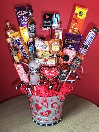 liquor baskets gift baskets him valentines day bouquet liquor