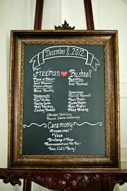 christmas wedding programs wedding wedding program on chalkboard frame inspiration modern