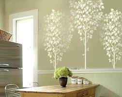 tree home decor linden tree 5 ft wall stencil reusable easy home