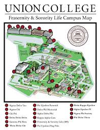 Life Map Greek Life Map Of Union College On Behance