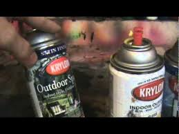 krylon spray paint review as a whole best types youtube