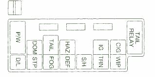 car wiring 2001 chevy tracker under the dash fuse box diagram