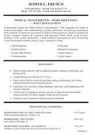 teacher resume examples substitute summary template word saneme