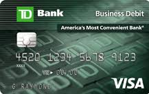 prepaid business debit card business debit card apply for a visa business debit card td bank