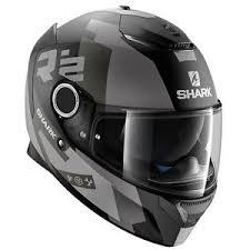 ebay ksa shark spartan apics silver matt ksa motorbike motorcycle full face