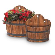 Wall Hanging Planters by 2 Pc Set Of Wall Mounted Planters 232116 Decorative