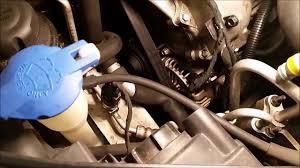 diy replace alternator on hyundai sonata 2 4l v6 2006 2009 for