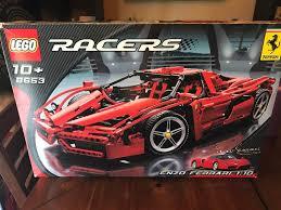 ferrari lego truck lego enzo ferrari 1 10 8653 ebay