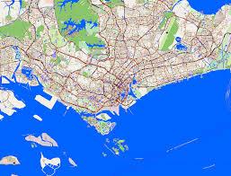 Maps Traffic City Maps Singapore