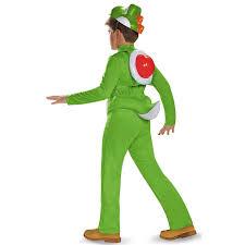 2nd skin halloween costumes super mario bros kids yoshi deluxe costume buycostumes com