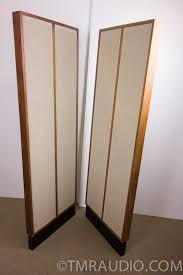 klh home theater system klh model 9 vintage electrostatic speakers in factory box one
