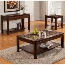 alpine furniture 1437 21 granada coffee table w coconut shell