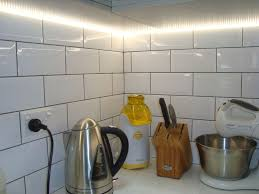 led strip lighting under wall cabinets in kitchen led lighting