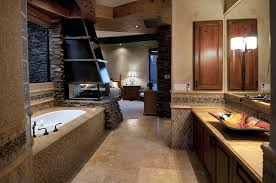 Rustic Master Bathroom Ideas - rustic master bathroom with master bathroom vessel sink raised