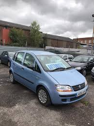 automatic fiat idea 1 4 petrol 5 doors hatchback 2005 05 plate low