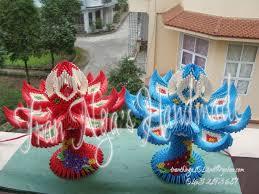 Origami 3d Flower Vase 16 Best 3d Origami By Tran Nga Images On Pinterest Origami Art