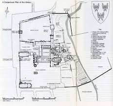 st edmundsbury borough council monastic history home page plan of the abbey precincts by the dissolution by a b whittingham
