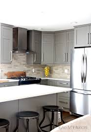 kitchen furniture vancouver kitchen painted benjamin amherst gray with white quartz