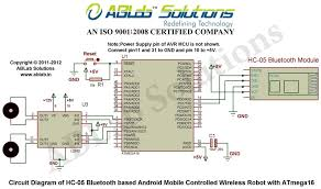 how to design a hc 05 bluetooth based android mobile controlled