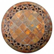 Mosaic Patio Tables Mosaic Bistro Table Set Foter