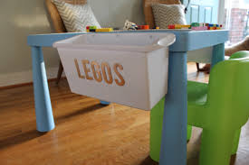 Diy Lego Table by Santa U0027s Got Diy Skills Ikea Table Turned Lego Table Simple Stylings