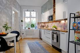 Retro Style Kitchen Cabinets Small Kitchen Decorating Ideas For Apartment Dining Chairs Plus