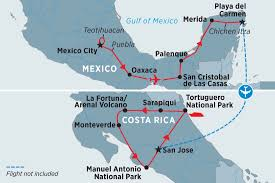 Map Of San Jose Costa Rica by Mexico U0026 Costa Rica Highlights Mexico Tours Peregrine