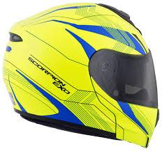 scorpion motocross helmets scorpion exo gt3000 sync hi viz helmet cycle gear