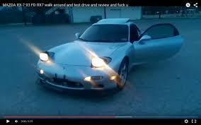 u mazda mazda rx 7 93 fd rx7 walk around and test drive and review and