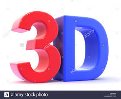 3d letters spelling 3d stock photo royalty free image 71076778