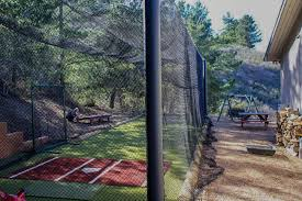 installation batting cages baseball softball