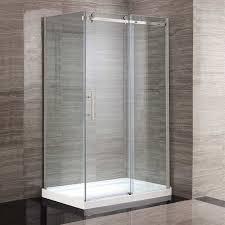 ove kelsey 48 in corner shower kit