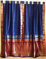 Sari Fabric Curtains Magical Thinking Silk Sari Curtain Outfitters Something