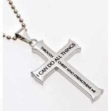 bible verse jewelry philippians 4 13 jewelry cross necklace strength