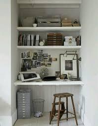 comment faire un bureau ou comment se faire un coin bureau dans un placard par exemple