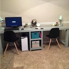 Computer Desk Design Two Person Workstation Create Desks And Gaming Desk