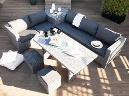 canape de jardin canapé de jardin droit ou d angle de 2 à 6 personnes