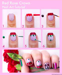 easy nail art design step by step tutorial