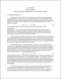 determination of a weak acid chm 2290 experiment 1 determination