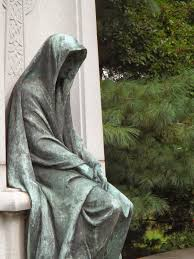 cemetery statues a grave interest cemetery statues of grief