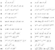 exponential equations and inequalities exercise 3